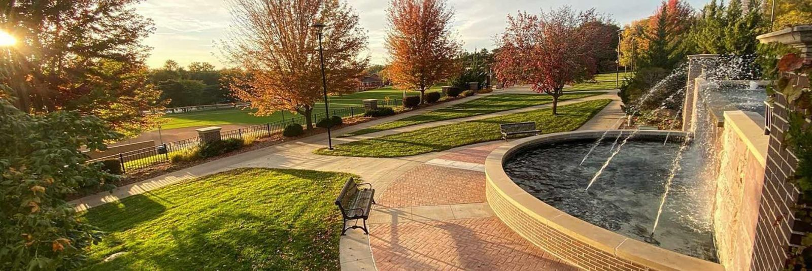Fountain at Morningside College