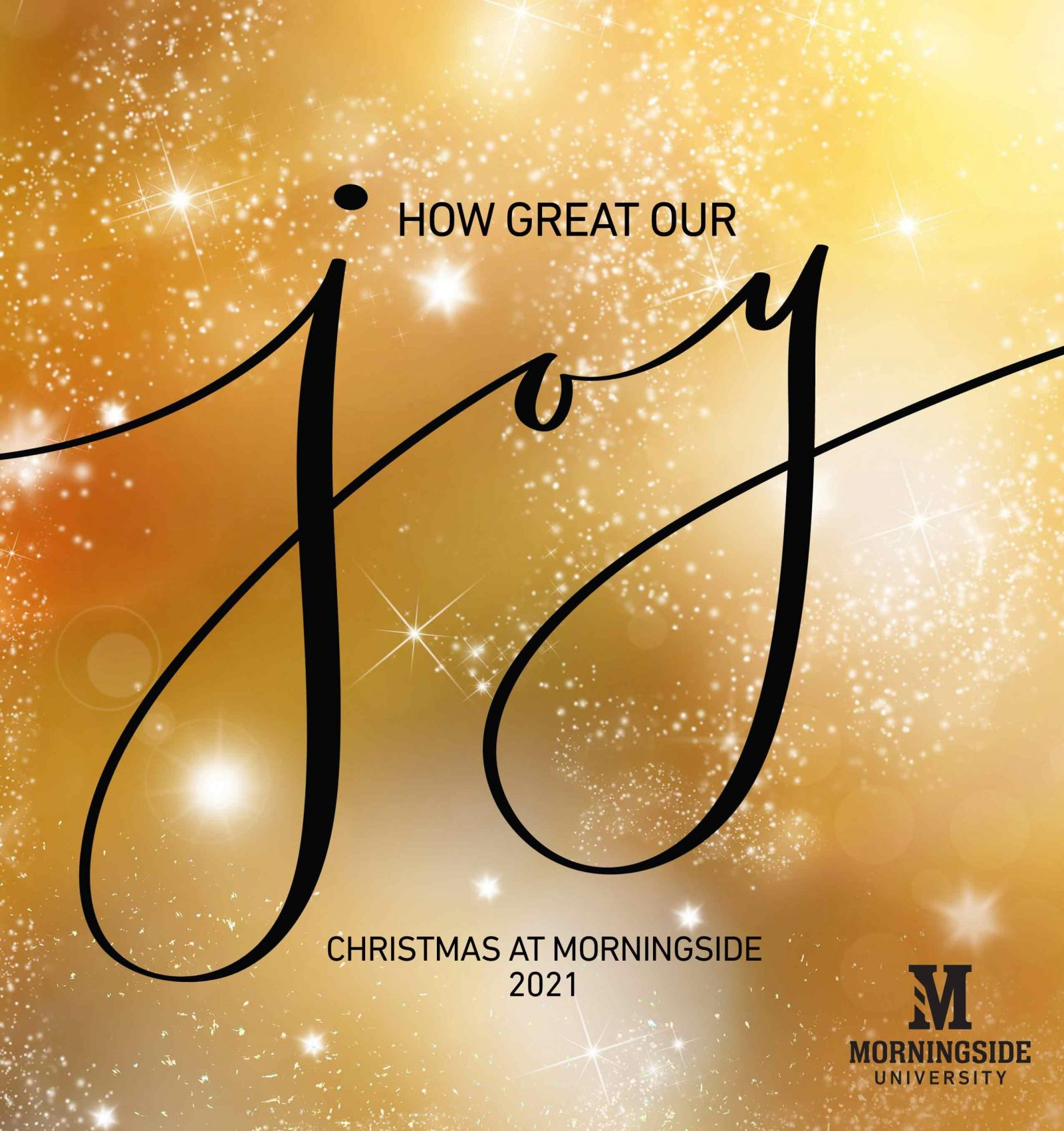 Christmas at Morningside How Great Our Joy graphic