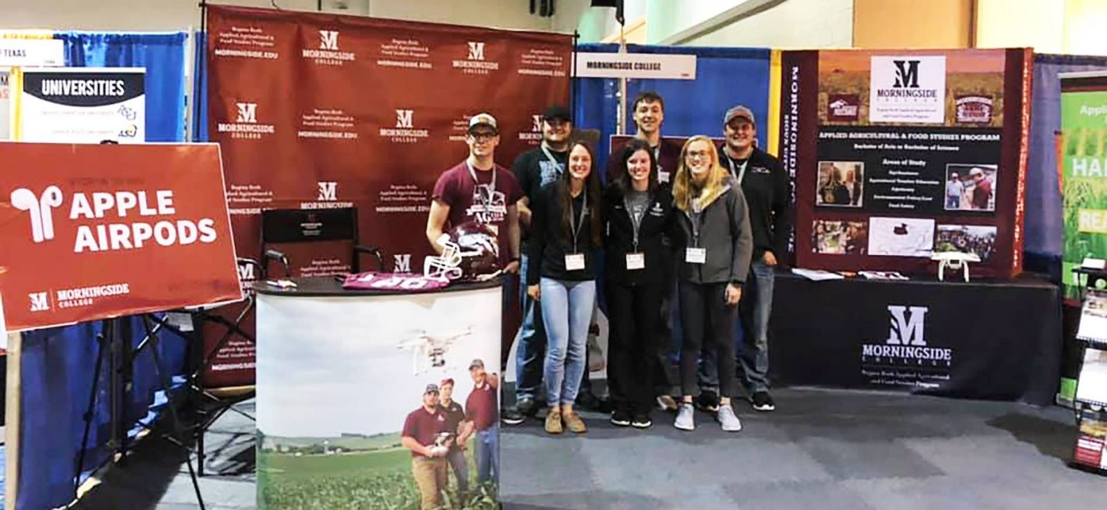 Morningside Ag students at FFA Convention 2019