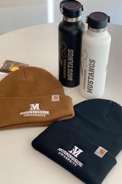 Carhartt hats and Hydro Flasks