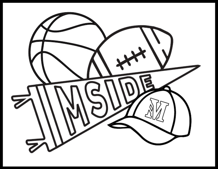 Mside Athletics Coloring Page