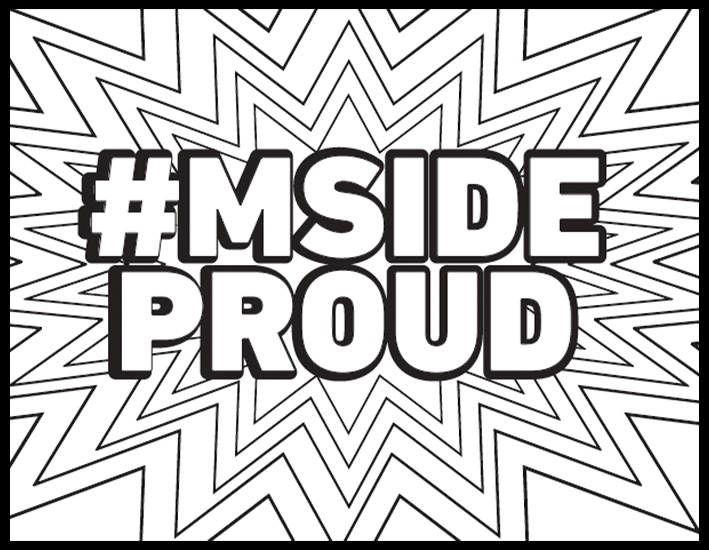 Mside Proud Coloring Page