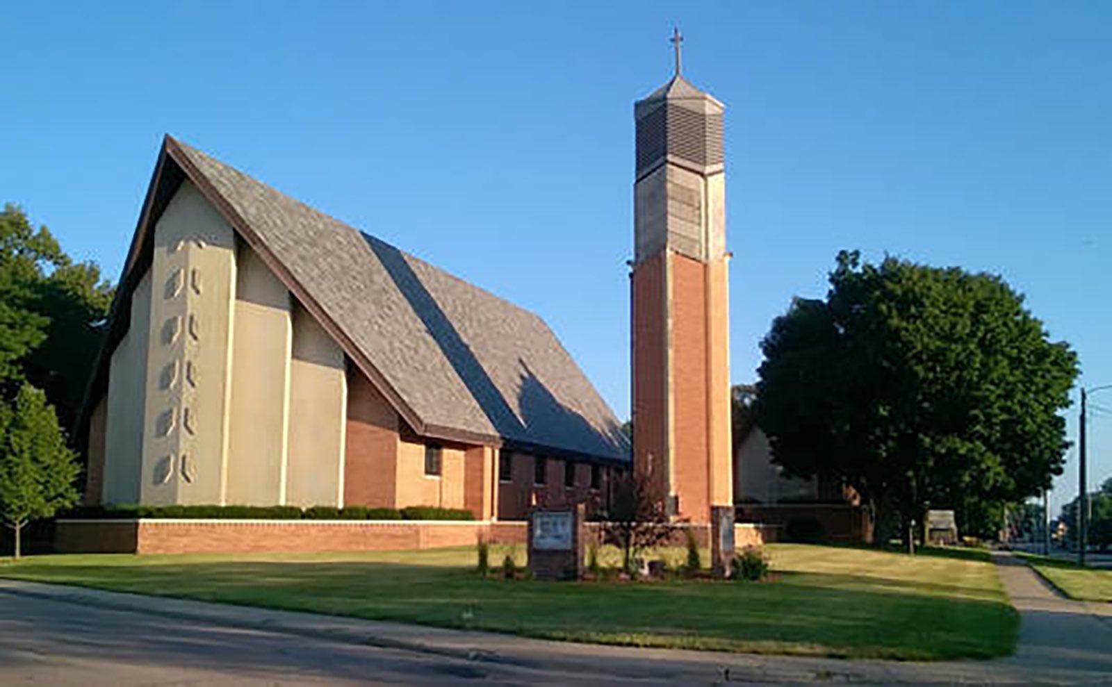 Grace United Methodist Church in Sioux City, Iowa.