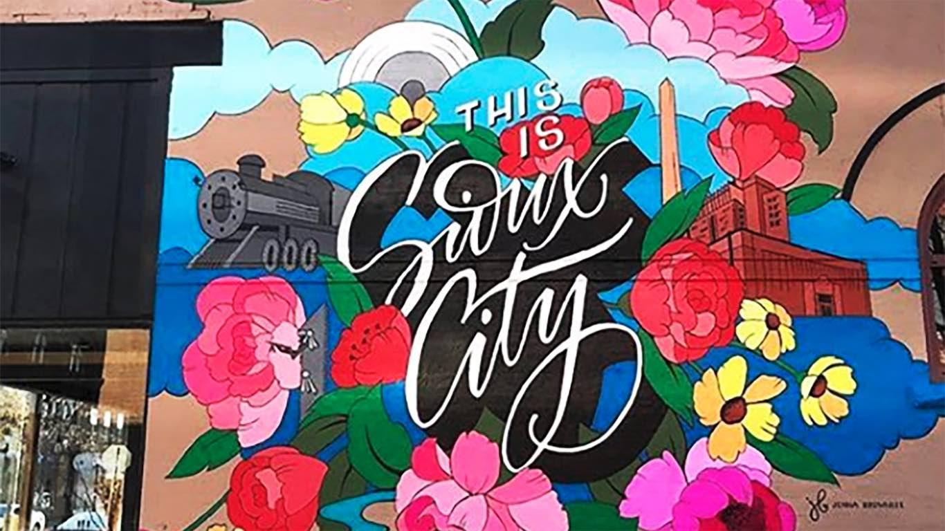 This Is Sioux City mural