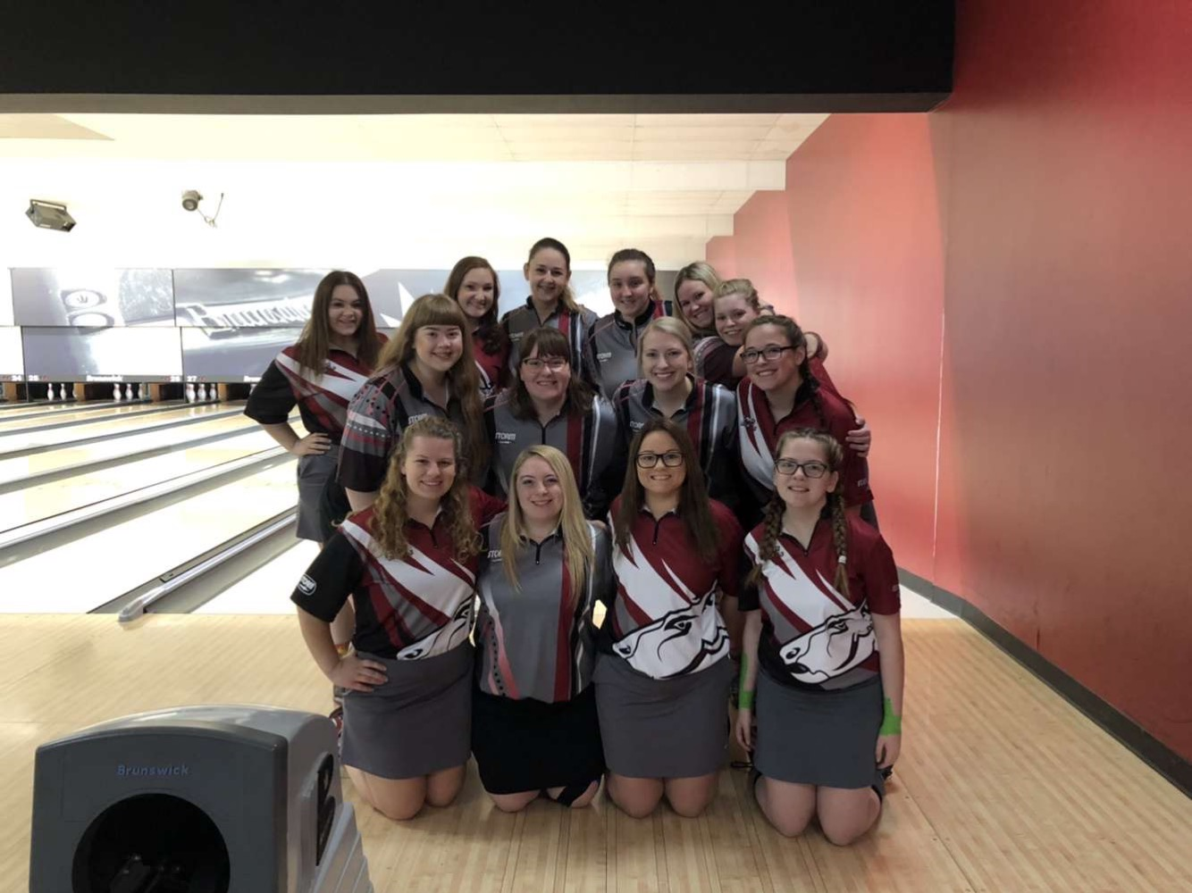 women's bowling team