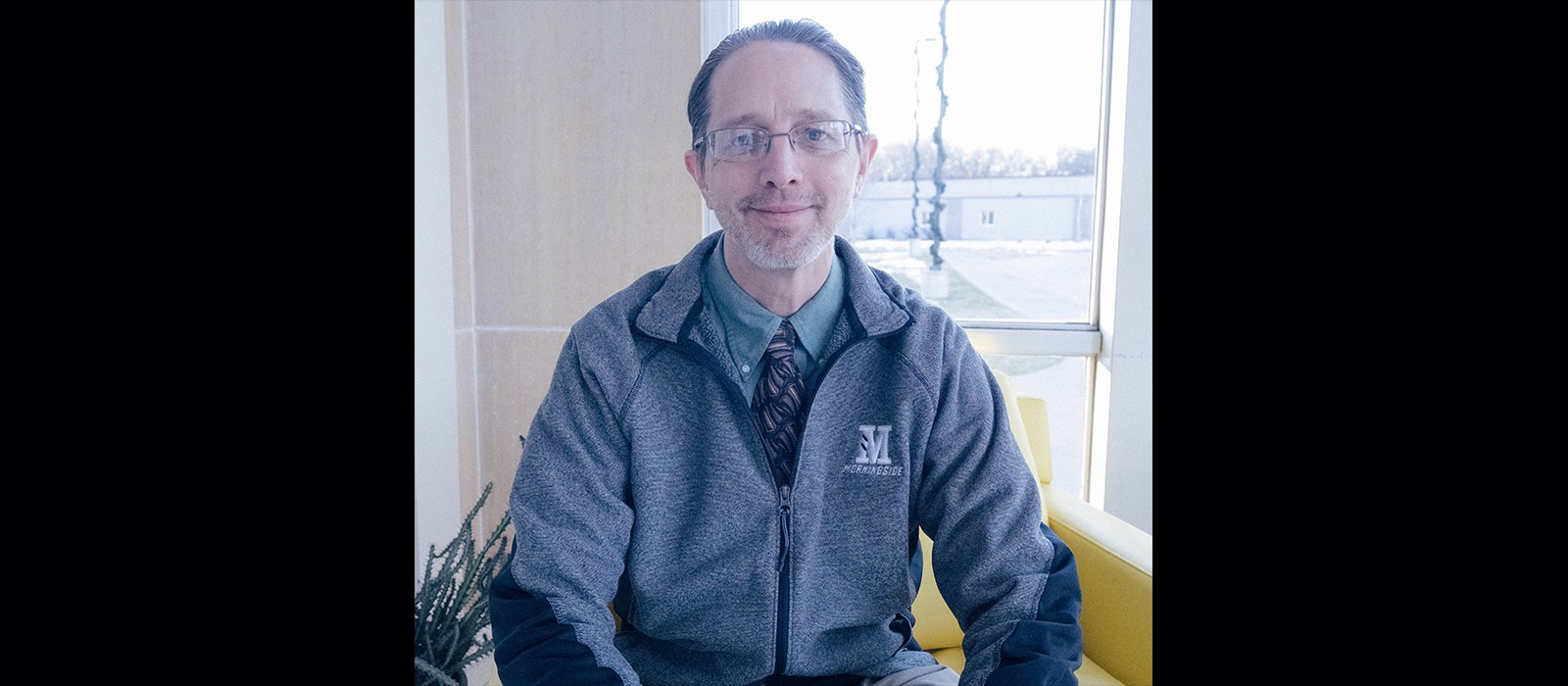 Morningside history professor Greg Guelcher