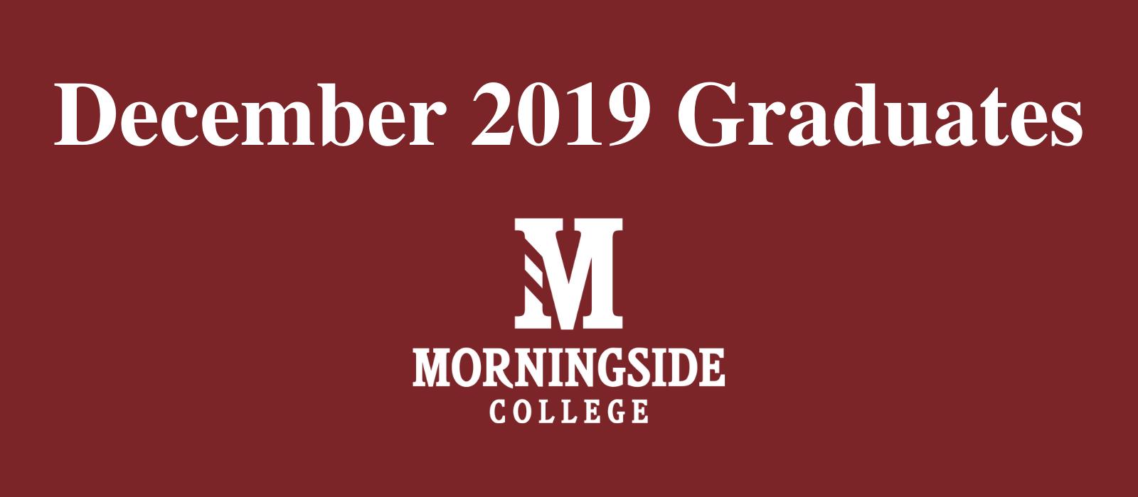 December 2019 Graduates image