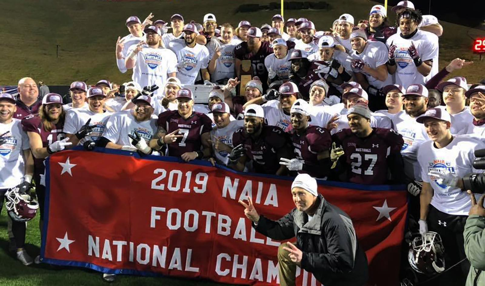 Morningside Football 2019 NAIA Champions