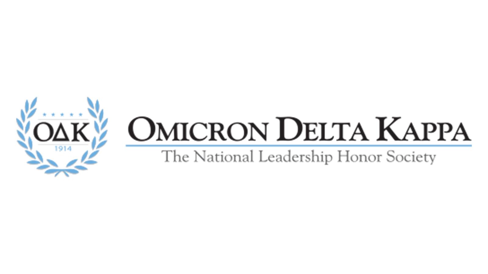 Logo for Omicron Delta Kappa