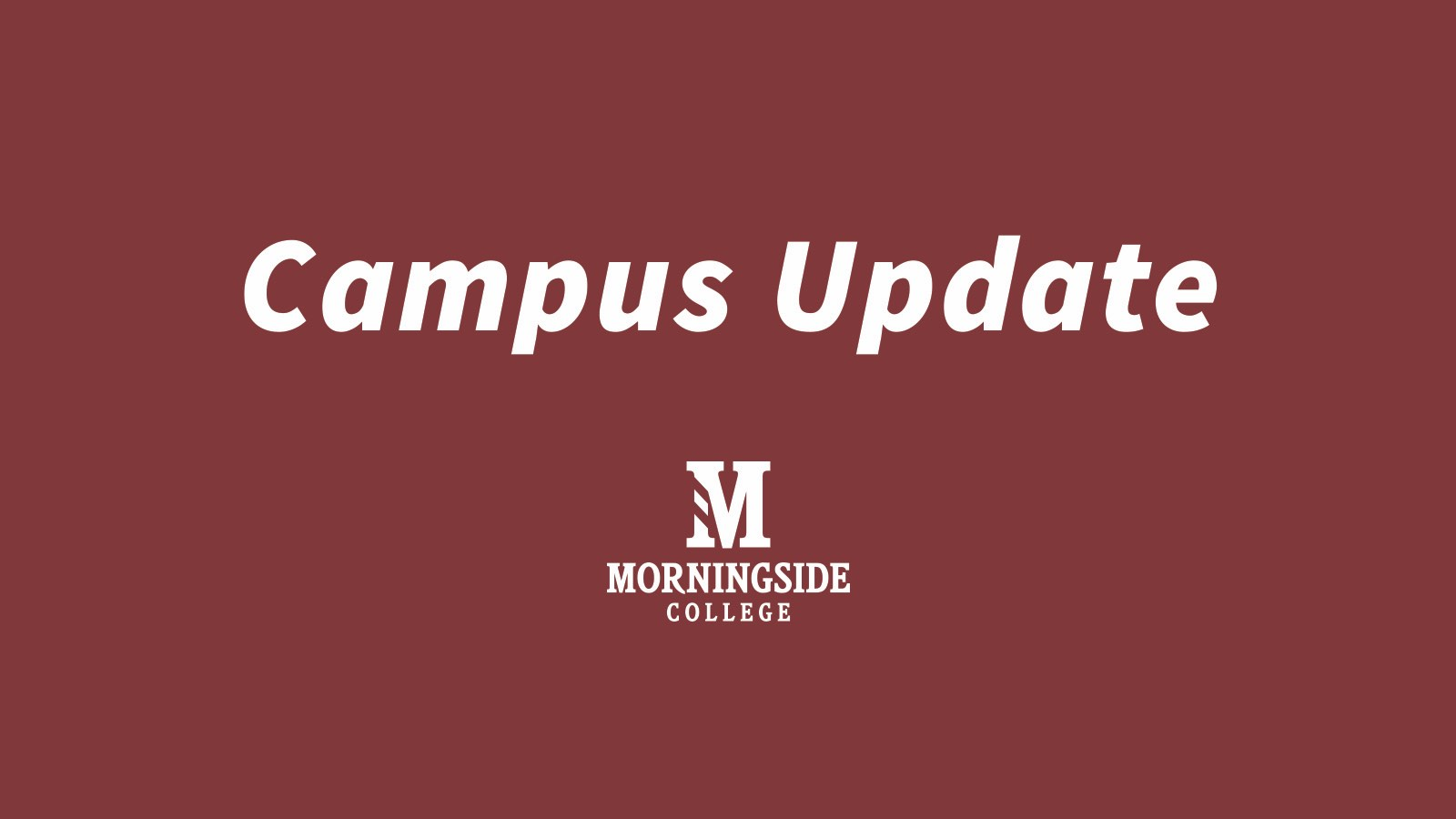 Campus Update graphic