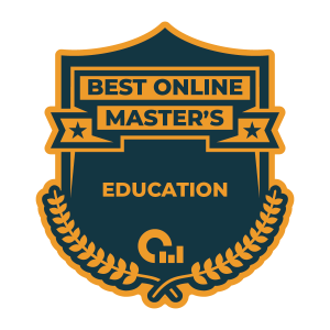Badge for the 2020 Top 50 best online MAT programs from OSR