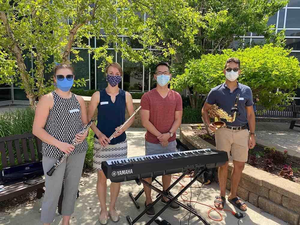 Musicians for Healing at CHI Health Omaha