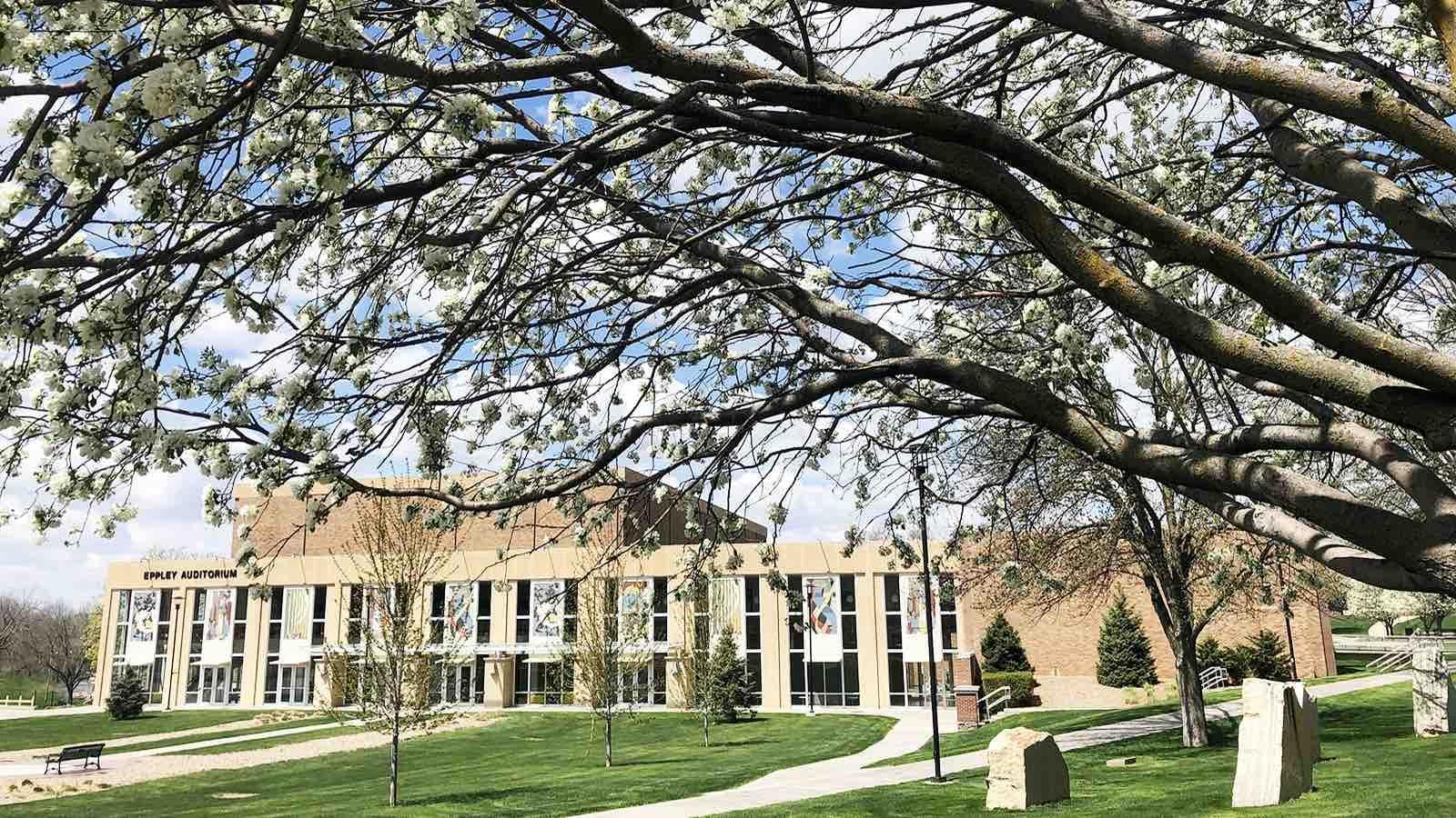 Eppley Fine Arts Building at Morningside College.