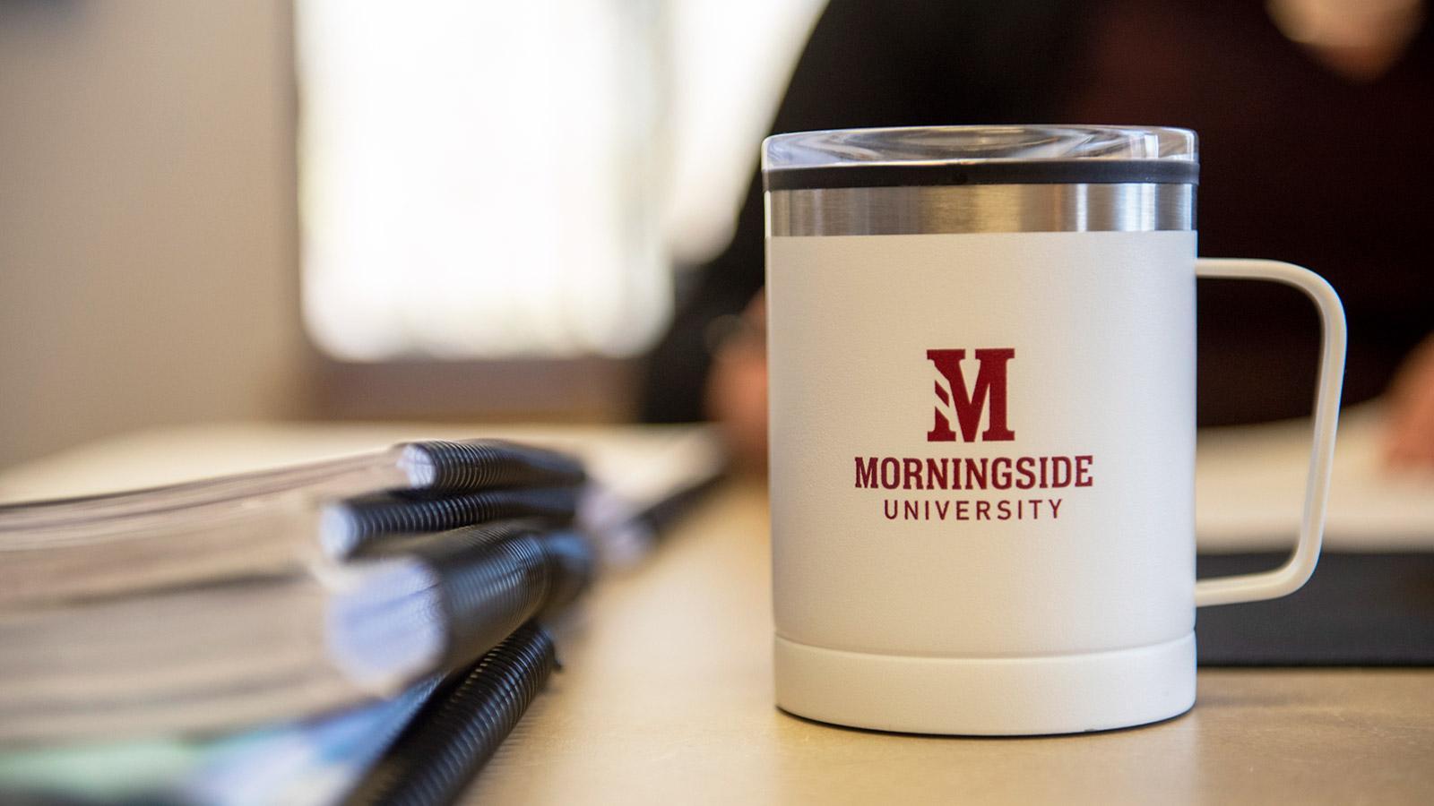 Morningside University coffee mug