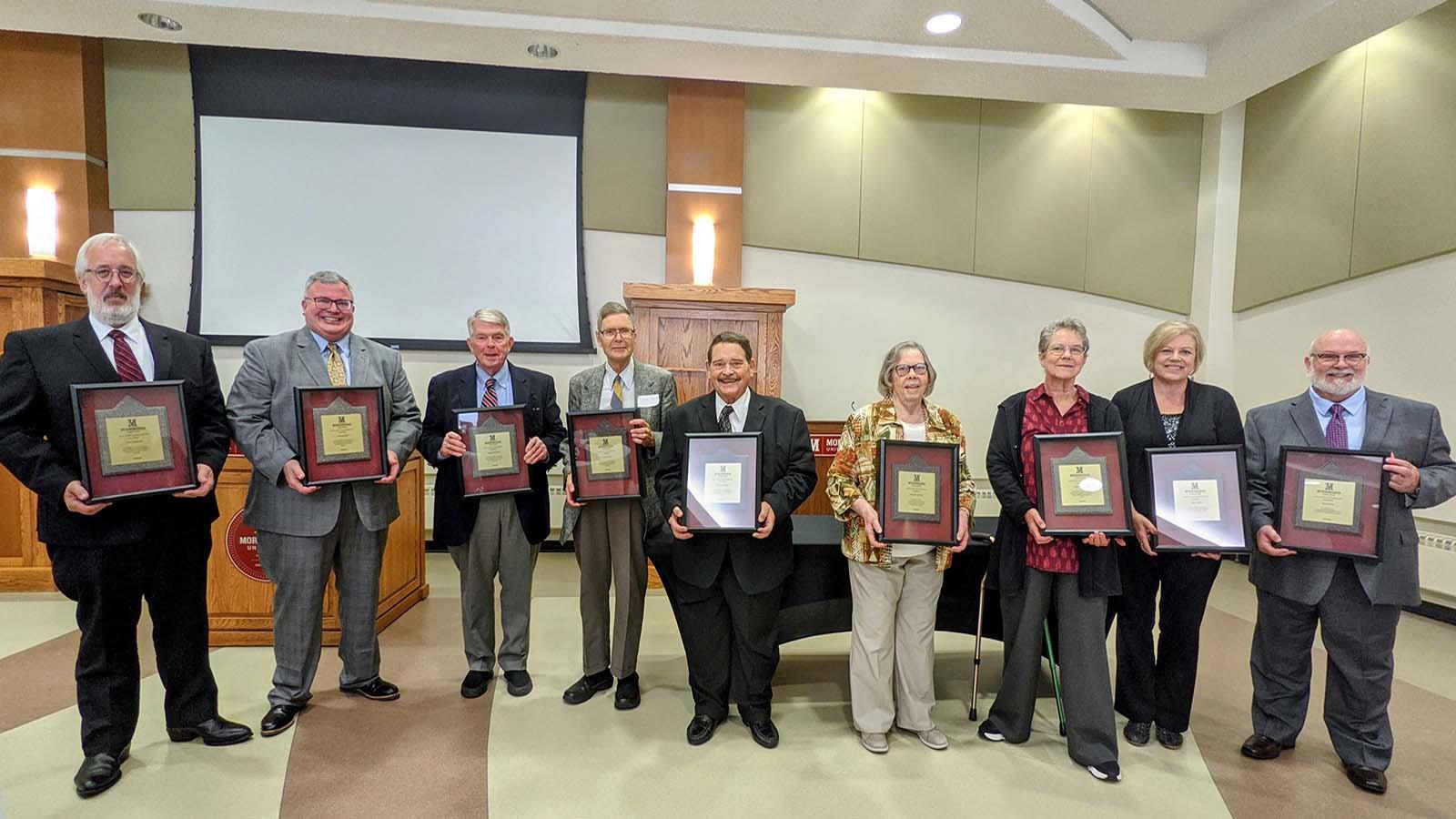 2020 and 2021 CODA recipients