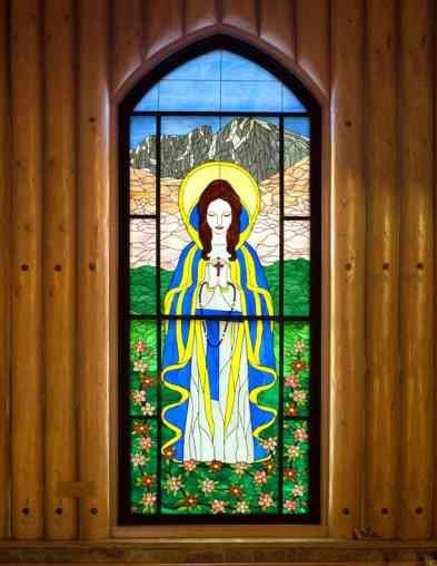 jay grooter stain glass mary