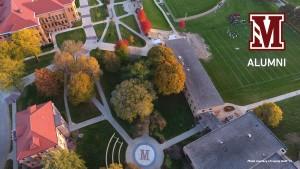 alumni campus morningside m aerial