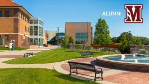 alumni fountain